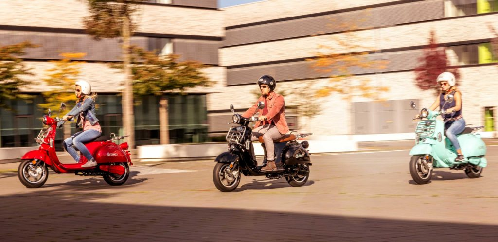 Elektro Motorroller - Die optimale Alternative zu 50 ccm in der Stadt